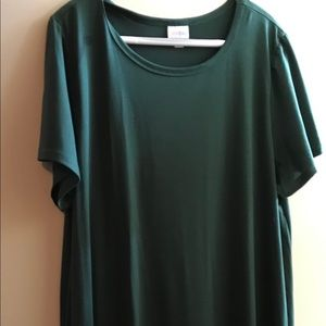 3XL Lularoe Forest Green Carly w/tags